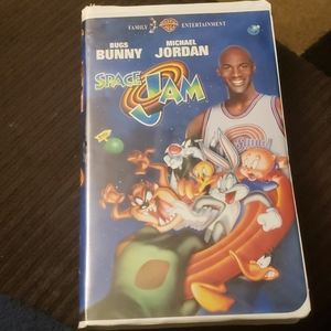 Space Jam VHS 1997